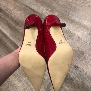 RSVP Shoes - ☀️ Rsvp red heels